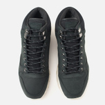 Зимние кроссовки Reebok Classic Leather Mid Gore-Tex Black/Paper White/Olive/Shark фото- 4
