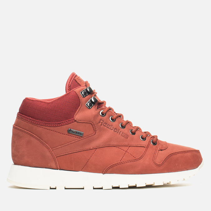 Зимние кроссовки Reebok Classic Leather Mid Gore-Tex Terra Red/Paper White
