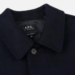 Мужское пальто A.P.C. Mac Auster Heather Marine фото- 1