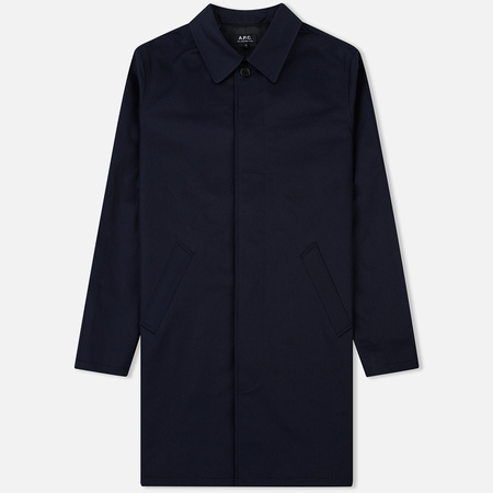 Мужской плащ A.P.C. Mac Ville Dark Navy