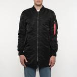 Мужское пальто Alpha Industries MA-1 Coat Black фото- 7