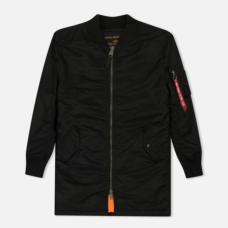 Мужское пальто Alpha Industries MA-1 Coat Black