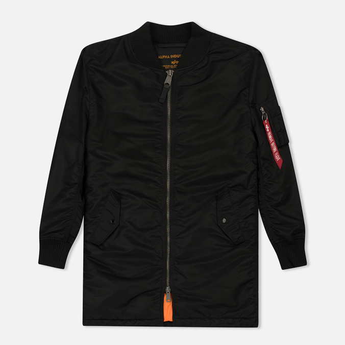 Мужское пальто Alpha Industries MA-1 Coat Black