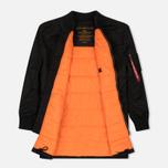 Мужское пальто Alpha Industries MA-1 Coat Black фото- 2