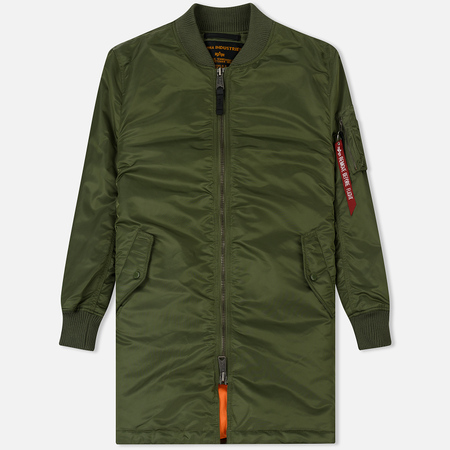 Мужское пальто Alpha Industries MA-1 Coat Sage Green
