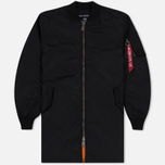 Мужское пальто Alpha Industries MA-1 TT Black фото- 0