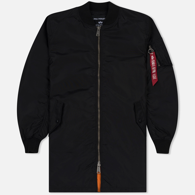 Мужское пальто Alpha Industries MA-1 TT Black