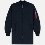 Мужское пальто Alpha Industries MA-1 TT Replica Blue фото- 0
