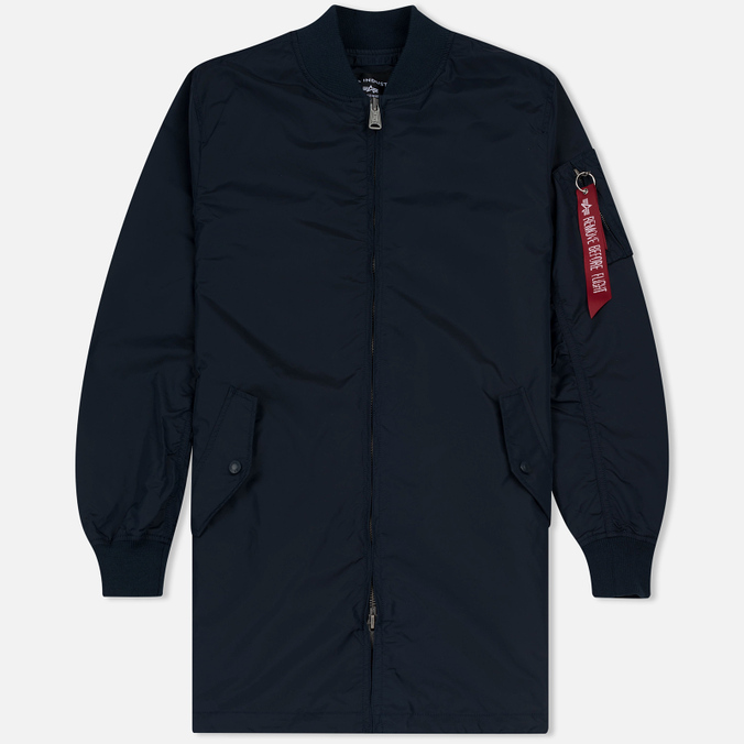 Мужское пальто Alpha Industries MA-1 TT Replica Blue