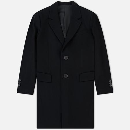 Мужское пальто AMI Two Boutons Black