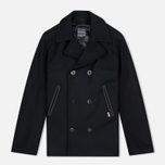 Мужское пальто Armor-Lux Bicolour Peacoat Black/Aluminium Grey фото- 0
