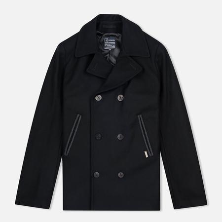 Armor-Lux Bicolour Peacoat Men's Coat Black/Aluminium Grey