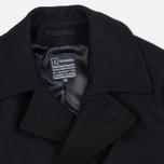 Armor-Lux Bicolour Peacoat Men's Coat Black/Aluminium Grey photo- 2