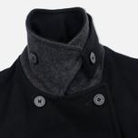 Armor-Lux Bicolour Peacoat Men's Coat Black/Aluminium Grey photo- 3