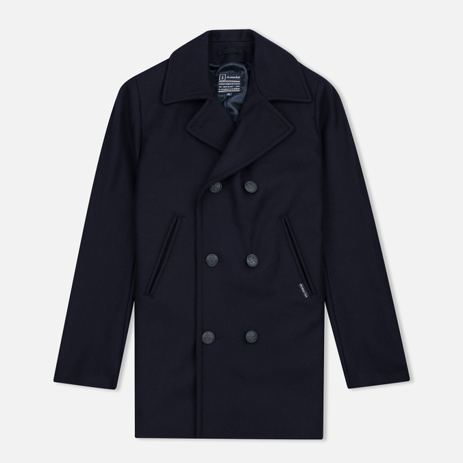 Мужское пальто Armor-Lux Cap Sizun Peacoat Navy Blue