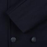 Мужское пальто Armor-Lux Cap Sizun Peacoat Navy Blue фото- 4