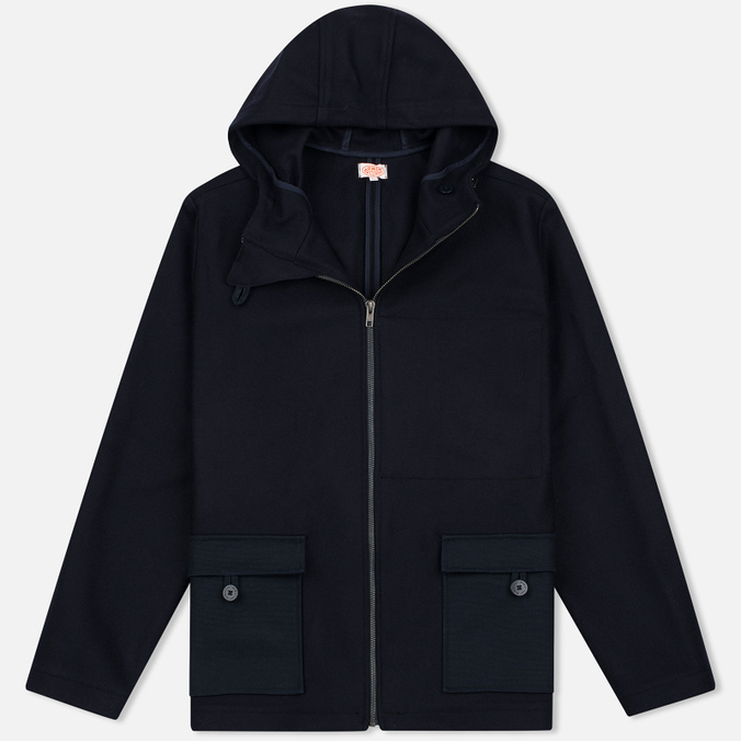Armor-Lux Heritage Kabig Men's Coat Navy