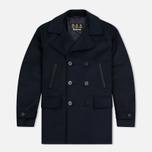 Мужское пальто Barbour Batten Wool Navy фото- 0