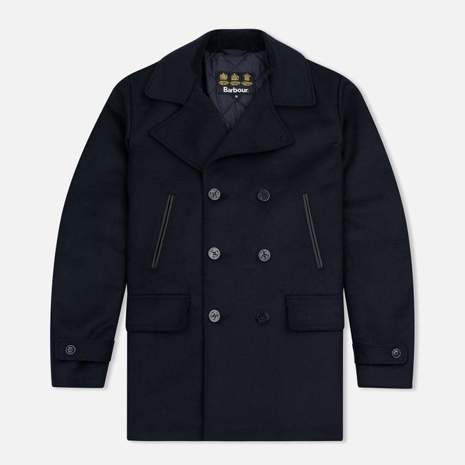 Мужское пальто Barbour Batten Wool Navy