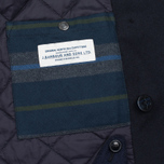 Мужское пальто Barbour Batten Wool Navy фото- 4
