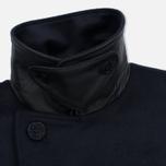 Мужское пальто Barbour Batten Wool Navy фото- 5