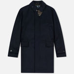 Мужское пальто Barbour Watten Wool Navy фото- 0