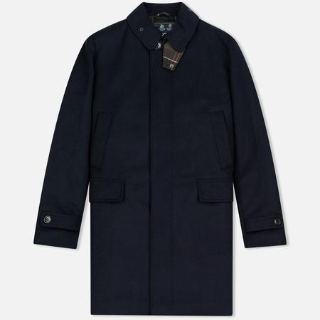 Barbour Watten Wool Men's Coat Navy