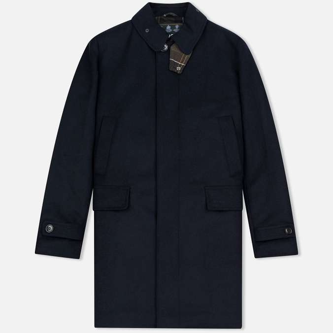 Мужское пальто Barbour Watten Wool Navy