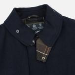 Мужское пальто Barbour Watten Wool Navy фото- 1