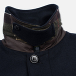 Мужское пальто Barbour Watten Wool Navy фото- 3