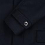 Мужское пальто Barbour Watten Wool Navy фото- 4