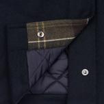 Мужское пальто Barbour Watten Wool Navy фото- 6