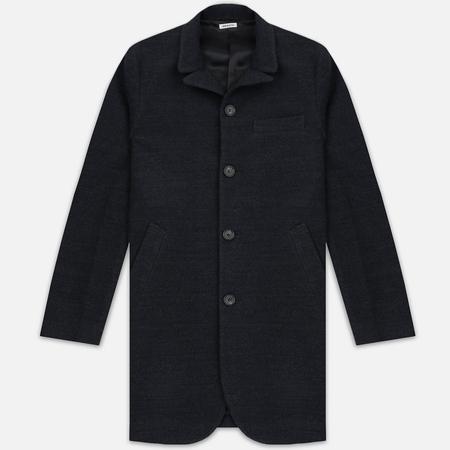 Мужское пальто Blue Blue Japan J5420 Hairly Fleece 4 Button Grey
