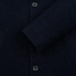 Мужское пальто Blue Blue Japan J5420 Hairly Fleece 4 Button Navy фото- 3