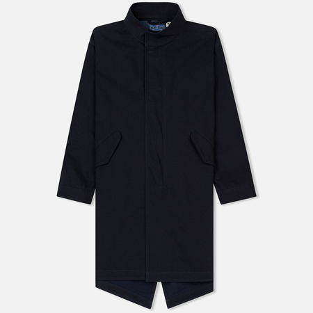 Мужское пальто Blue Blue Japan J5634 Chino Cloth Fishtail Indigo