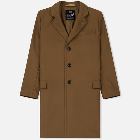 Мужское пальто Gloverall Chesterfield Camel