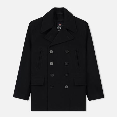 Мужское пальто Gloverall Churchill Reefer Black