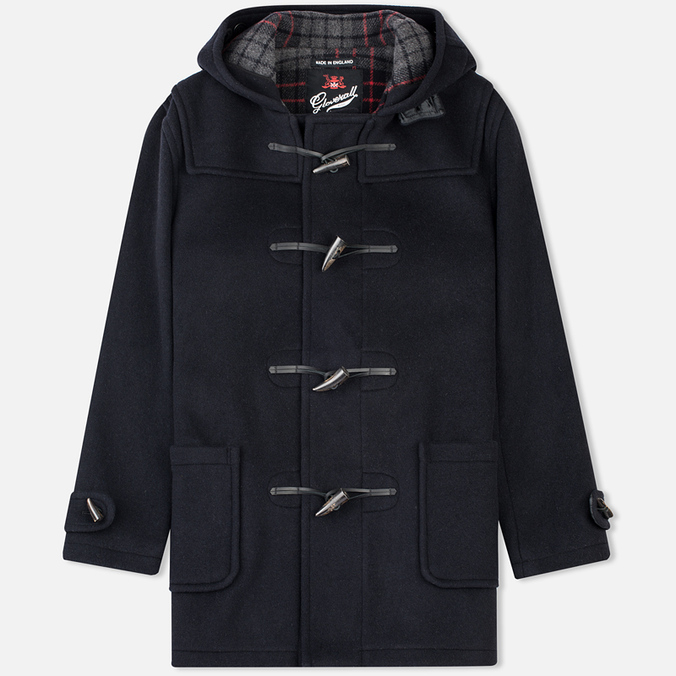 Мужское пальто Gloverall Mid Length Duffle Navy