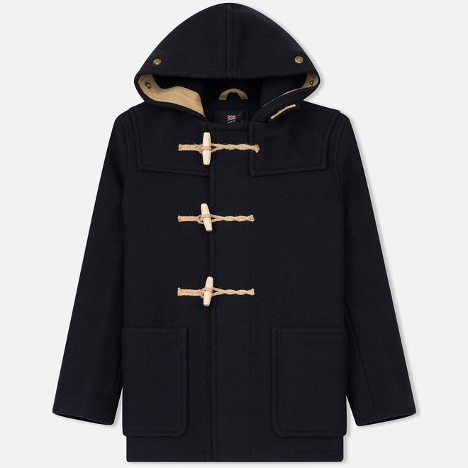 Мужское пальто Gloverall Mid Length Monty Navy