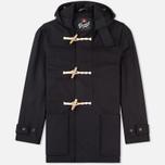 Мужское пальто Gloverall Mid Monty Navy фото- 0