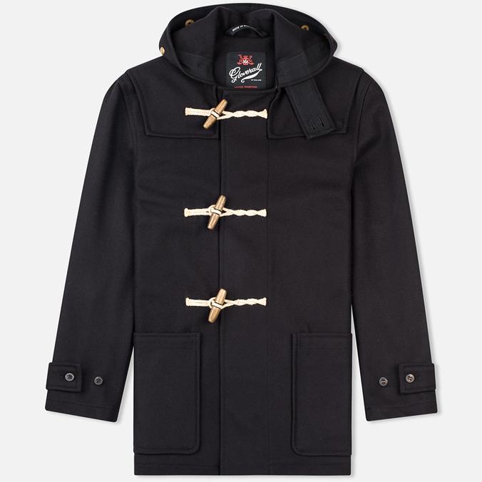 Gloverall Mid Monty Men's Coat Navy