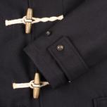 Мужское пальто Gloverall Mid Monty Navy фото- 4