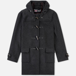 Gloverall Morris Coat Charcoal photo- 0
