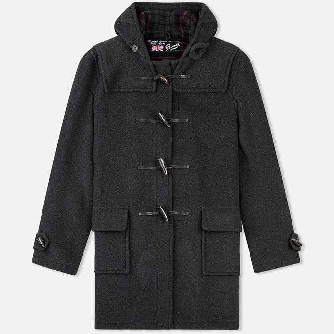 Мужское пальто Gloverall Morris Charcoal