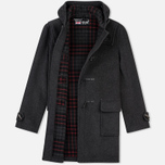 Gloverall Morris Coat Charcoal photo- 1