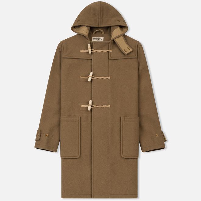 Мужское пальто Gloverall Original Monty Duffle Camel