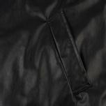 Мужское пальто MSGM Long Soft Artificial Leather Black фото- 3