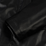 Мужское пальто MSGM Long Soft Artificial Leather Black фото- 4