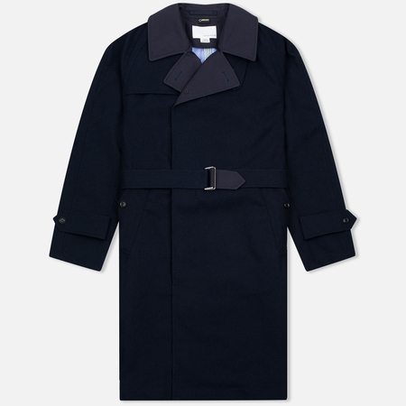 Мужской тренчкот Nanamica GORE-TEX Trench Navy