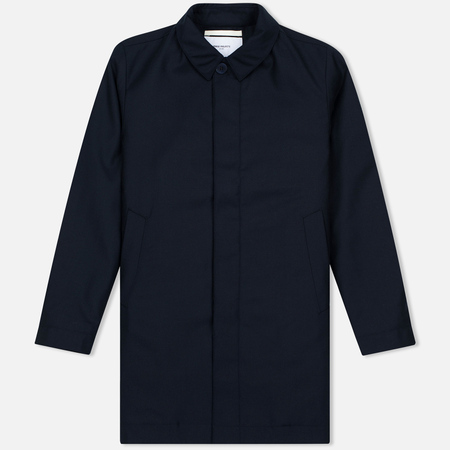 Мужское пальто Norse Projects Thor Padded Bristish Merino Navy Melange